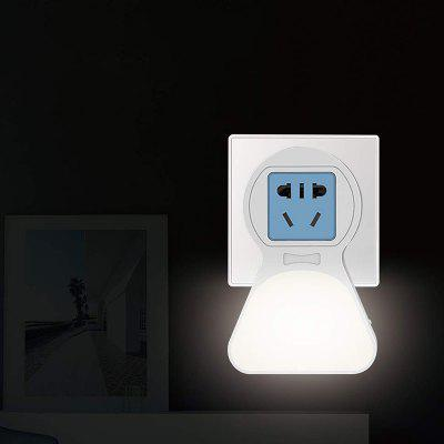 BRELONG AC 100 - 240V Smart LED Sensor Night Light Europe Socket