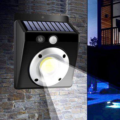 BRELONG Lámpara de Pared LED de Energía Solar Impermeable para Exterior