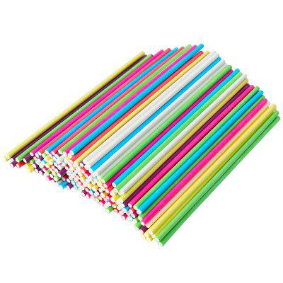 Environmentally Friendly Food Grade Solid Chocolate Candy Paper Stick 100pcs