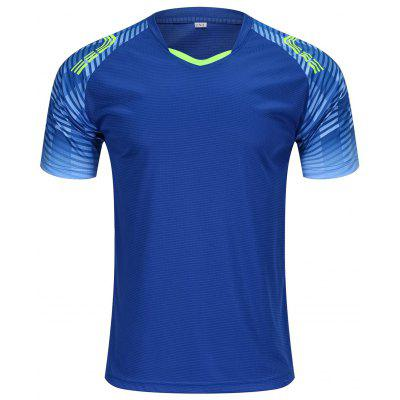 Men's Short-sleeved T-shirt Round Neck Breathable