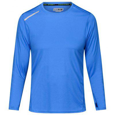 Men's Sports T-shirt Long Sleeve Running Training