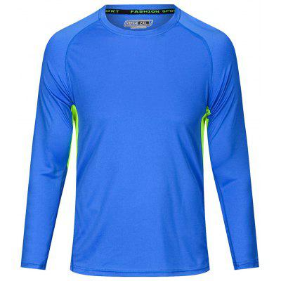 Men's Sports T-shirt Long Sleeve for Running