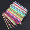 Environmentally Friendly Food Grade Solid Chocolate Candy Paper Stick 100pcs - MULTI