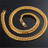 Men's Personality Fashion Necklace Gold Plated - GOLD
