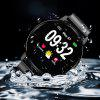 S01 Color Screen Smart Pulseira Rodada Tela Sports Watch - PRETO
