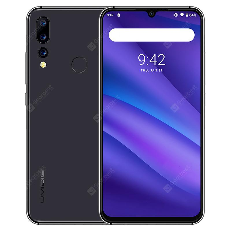 Gearbest UMIDIGI A5 PRO 4G Phablet 6.3 inch Android 9.0 Helio P23