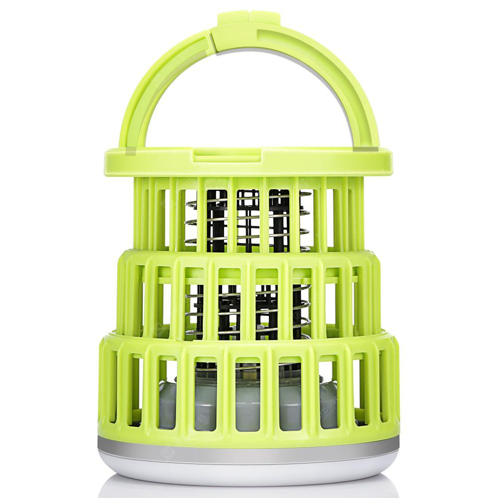 Gocomma SB - 6087 Retractable Anti-mosquito Camping Light - Tea Green