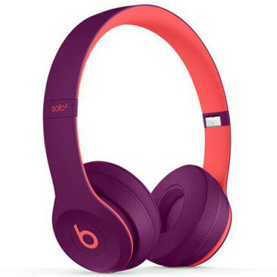 Original Beats Solo3 Wireless Bluetooth On-ear Headphone Fast Charge Anti Noise Professional Activate Siri 40 Hrs Battery