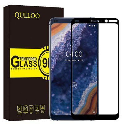 QULLOO 2.5D 9H Full Tempered Glass Screen Protector for Nokia 9 Pure View