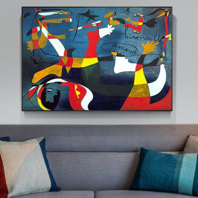 Home Decoration Abstract Single Print
