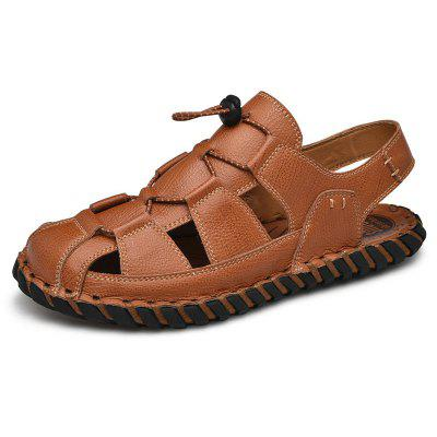GearBest coupon: Men's Solid Color Casual Outdoor Sandals