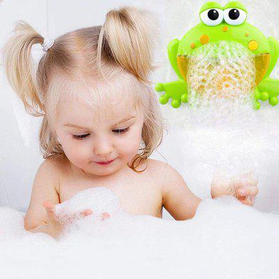 Copii Electric Frog Bubble Machine cu muzică