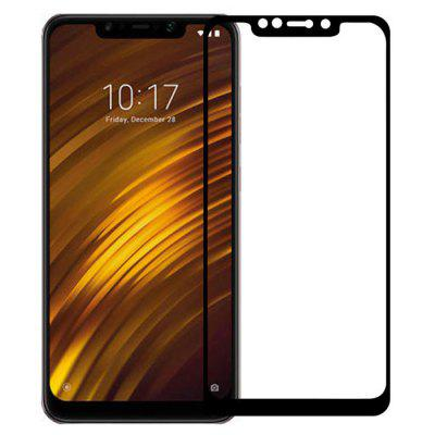 QULLOO 2.5D 9H Full Tempered Glass Protective Film for Xiaomi Pocophone F1