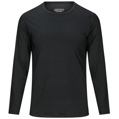 Men's Long Sleeves T-shirt Slim Fit Breathable