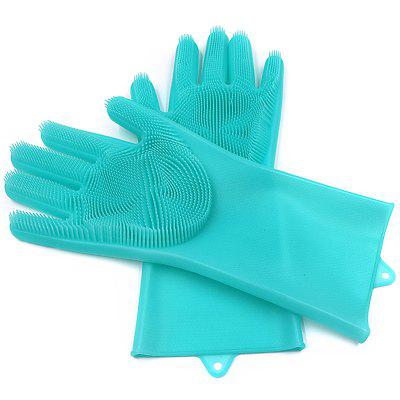 Multi-function Non-slip Insulation Cleaning Brush Kitchen Durable Gloves
