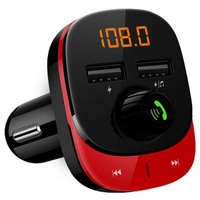 C22 Bluetooth Wireless FM Radio Transmitter Adapter Car Kit