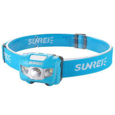 SUNREI YOUDO2S Super Bright Waterproof Headlight for Outdoor Hiking Mountaineering Camping