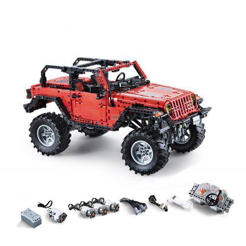 Gearbest CADA C61006 Vehicle RC Block Toy 1941PCS - Red