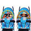 Baby Stroller Clip Hanging Toys Cartoon Mobile Rattle - AQUAMARINE