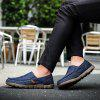 Men's Summer Fashion Breathable Casual Shoes Slip-on - DEEP BLUE