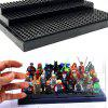Building Blocks Figure Toy Storage Display Box - BLACK