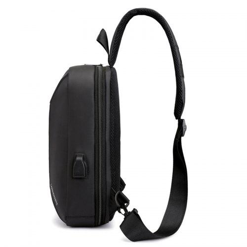 Men Chest Bag with USB Charging Port