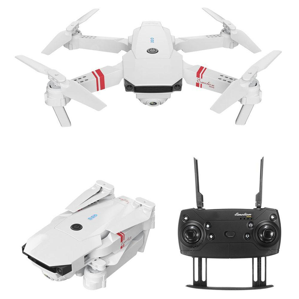 DJ - 1 2.4G Folding RC Drone RTR - White