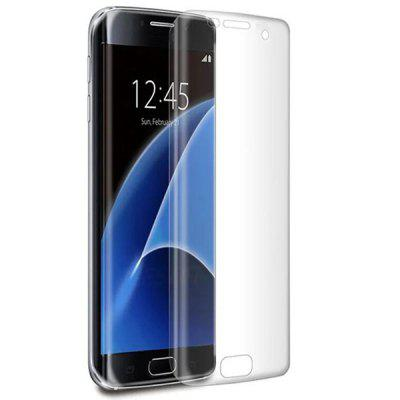 3D Hot Bending Screen Soft Film voor Samsung S7 Edge