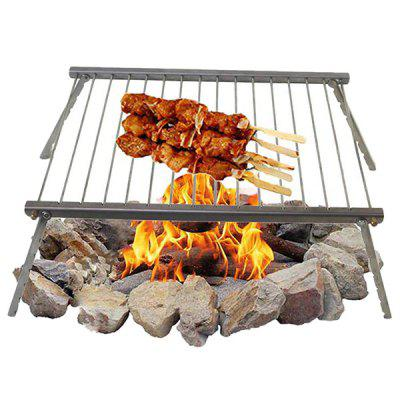 Portable Barbecue Grill for Outdoor Stainless Steel Cooking Stove Tools