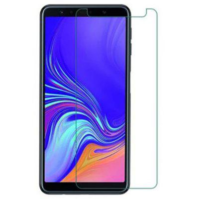 2.5D Surface 9H High-definition Explosion-proof Transparent Tempered Film for Samsung Galaxy A7 2018