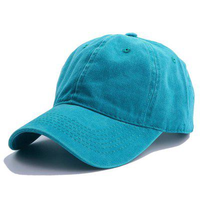 Men Washed Baseball Cap for Daily Use