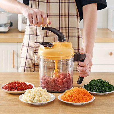 Large Capacity Multi-function Hand-cranked Meat Grinder