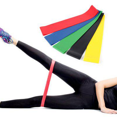 Yoga Resistance Band Elastic Training Sports Fitness Tool 5pcs