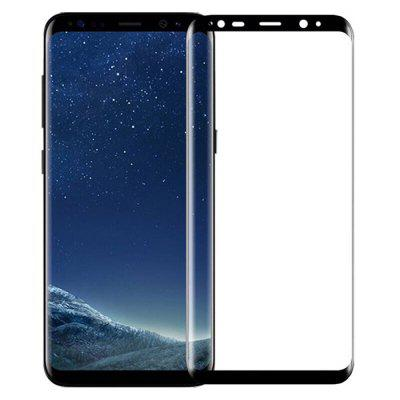 Full Screen Black Side 3D Tempered Glass Film for Samsung S8