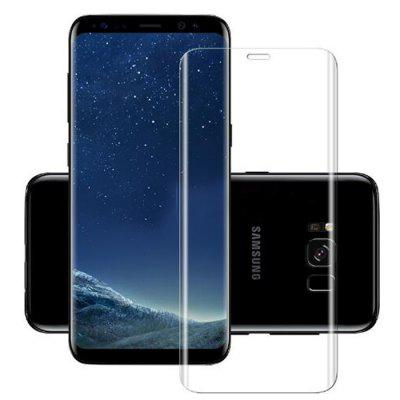 Full-screen Transparent Curved Tempered Film for Samsung S8