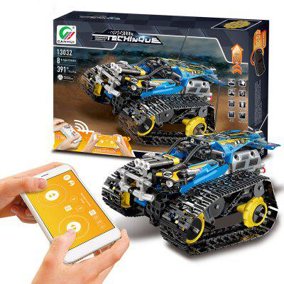 13032 DIY Electric Stunt Racing Crawler Building Blocks