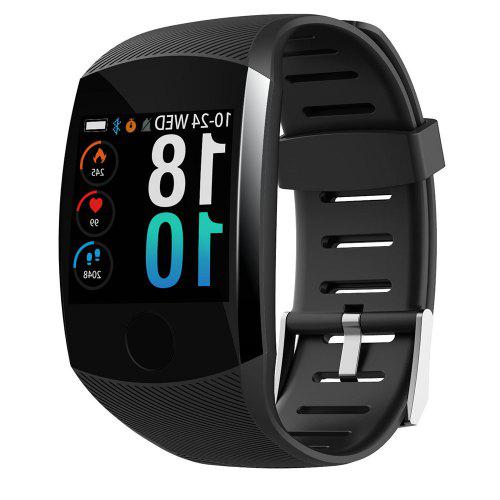 Gearbest Q11 Smart Bluetooth Bracelet Sports Wristband Smartwatch - Black Heart Rate / Blood Pressure Monitor / Colorful Touch Screen