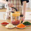 Large Capacity Multi-function Hand-cranked Meat Grinder - BRIGHT YELLOW