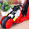 xingbao XB - 03001 Motorcycle Puzzle Bouwstenen 1143PCS - ROOD