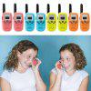 Children's Walkie Talkie Wireless Call Parent-child Interaction 2pcs - ORANGE