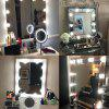 Indoor Decorative LED Makeup Mirror String Light - CRYSTAL CREAM