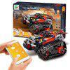 13036 DIY Electric Stunt Racing Crawler Building Blocks - RED
