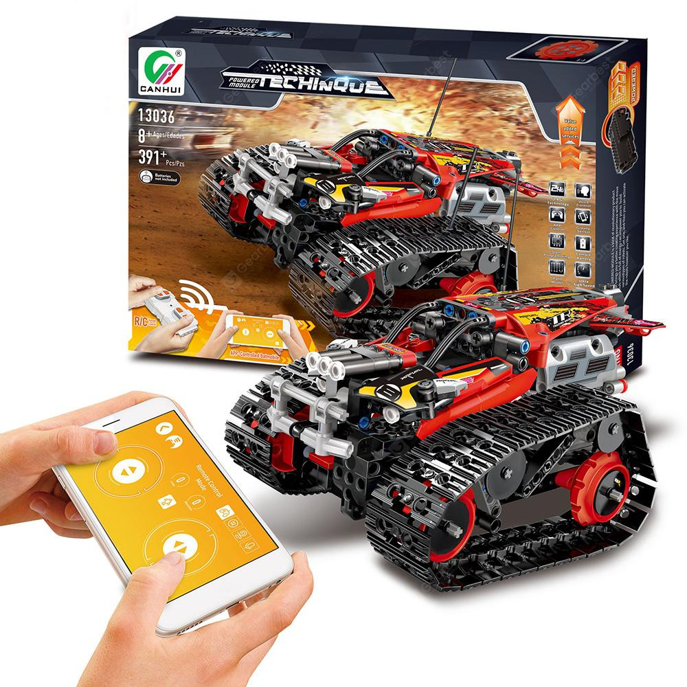 13036 DIY Electric Stunt Racing Crawler Building Blocks