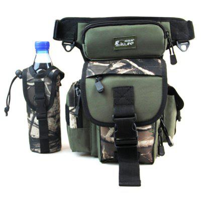ilure Fishing Gear Bag Outdoor Multi-function Pocket