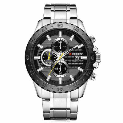 CURREN Men's Waterproof Business Calendar Watch