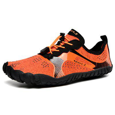 Men Lace-up Durable Sports Snorkeling Shoes Waterproof
