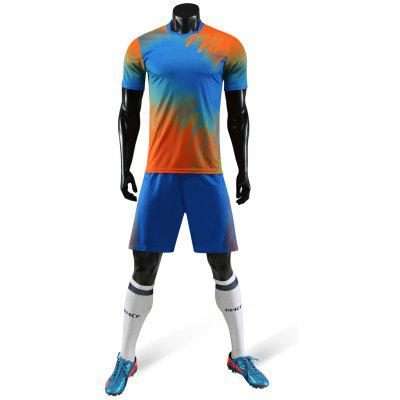 Men's Football Tracksuit T-shirt Shorts for Training Sports Competition