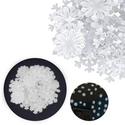 Luminos Snowflake Patch Sticker 50pcs