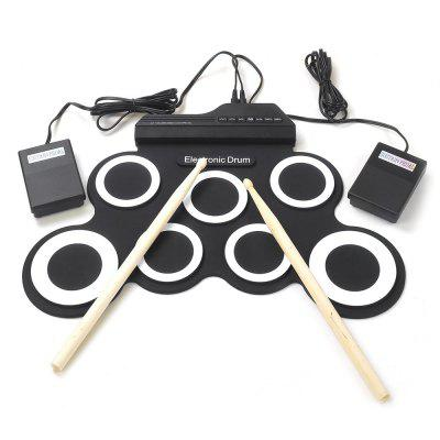 iWord G3002 Hand Roll Silicone Electronic Drum