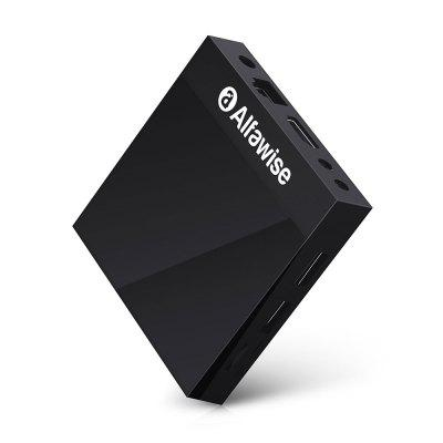 Alfawise A9 4K TV Box Amlogic S905 Android 8.1 Internet Intelligent Mediabox